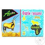 Фарби гуашеві Africa 6 кольорів