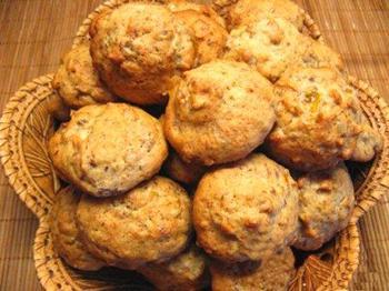 Печенье из хурмы