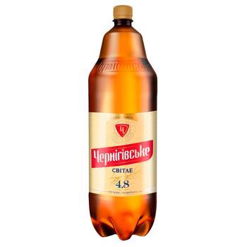 Пиво Черниговское Светлое 4.8%об. 2.35л
