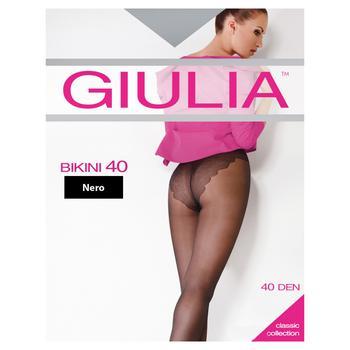 Колготки Giulia Bikini жіночі nero 40ден 4р