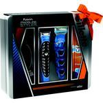 Подарочный набор Стайлер Gillette Fusion ProGlide + 1 картридж + 3 насадки + Гель для бритья Gillette Fusion Увлажняющий 200мл