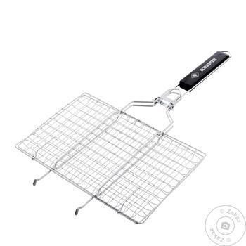 Решетка-гриль Forester Mobile с ручкой 22x35см - купить, цены на Novus - фото 2
