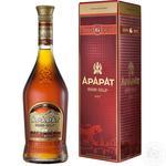 Коньяк Ararat Aни 6 лет 40% 0,5л - купить, цены на Novus - фото 2