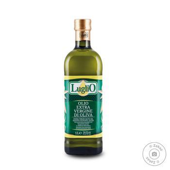Олія оливкова нерафінована першого віджиму Luglio, скло, 1000 мл - купить, цены на Novus - фото 1