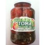 Овочі помідор Тома Асорті маринована 1500г