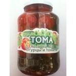 Vegetables tomato Toma Mix pickled 1500g