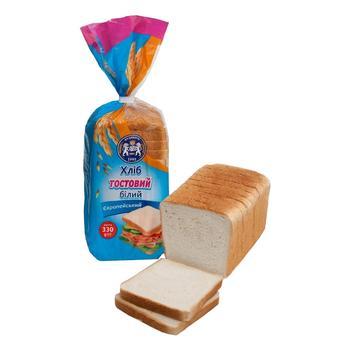 Хлеб тостовый Кулиничи Европейский белый 330г - купить, цены на СитиМаркет - фото 1