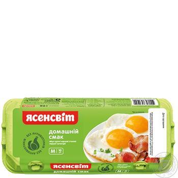 Яйце куряче Ясенсвіт Домашній Смак С1 10шт