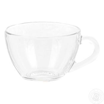 Чашка ОСЗ Прага стеклянная 200мл шт - купить, цены на Ашан - фото 2