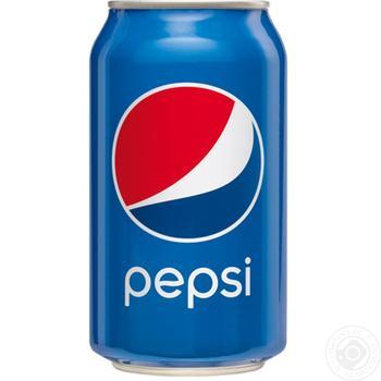 Напиток Pepsi 0,33л - купить, цены на Фуршет - фото 1