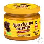Паста арахисовая Master Bob с шоколадом 200г