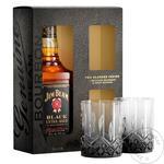 Jim Beam Black Bourbon 43% 0,7l + 2 Glass