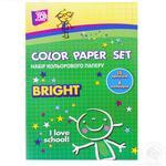 Кольоровий папір Cool for School 14 аркушів