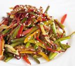 Салат з м'ясом і овочами