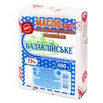 Масло Балаклійське Селянське  73% 400г - купити, ціни на Восторг - фото 1