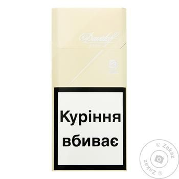 Сигареты Davidoff Gold Slims