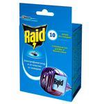 Електрофумігатор Raid від комарів в комплекті з 10 пластинами
