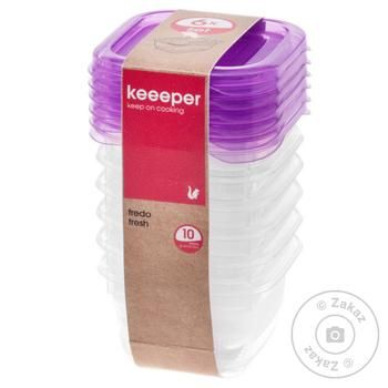 Комплект емкостей KEE для СВЧ FredoFr 6x0.1л - купить, цены на Фуршет - фото 1