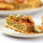 Фисташково-миндальный тарт