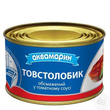 Толстолобик Аквамарин в томатном соусе 230г - купить, цены на Ашан - фото 3