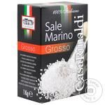 Соль морская Casa Rinaldi Grosso 1кг - купить, цены на МегаМаркет - фото 1