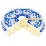 Сыр Bergader Бавария Блю с белой и голубой плесенью 70%