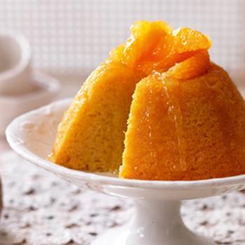 Апельсиновий пудинг в мікрохвильовій печі