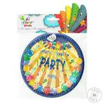 Party House Party Paper Disposable Plate 18cm 6pcs