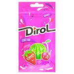 Жевательная резинка Dirol фруктовый микс 30г