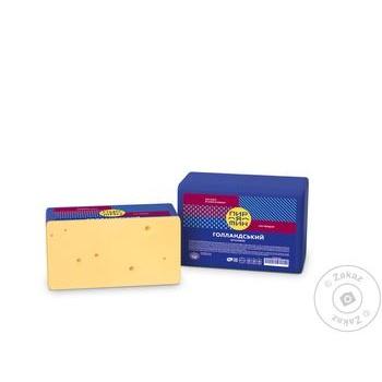 Сыр Пирятин Голландский - купить, цены на Фуршет - фото 1