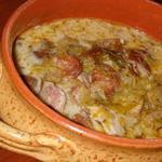Суп із квашеної капусти по-угорськи