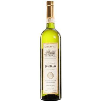 Kartuli Vazi Tsinandali White Dry Wine 12% 0.75l