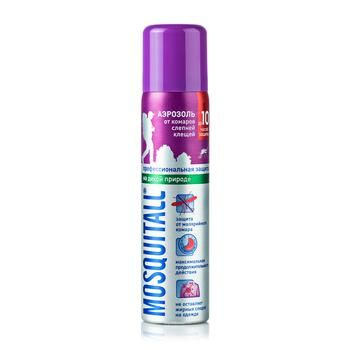 Mosquitall Against Mosquitoes And Ticks Aerosol 75ml