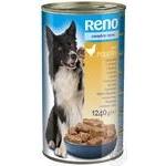 Консерва Reno для собак птиця 1240г