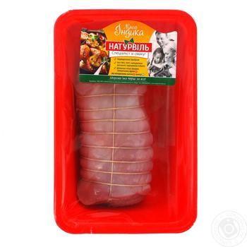 Мясной рулет Натурвиль из филе индейки охлажденный - купить, цены на Ашан - фото 1