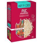 Рис Art foods пропаренный порционный 4x125г
