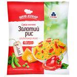 Овощная смесь Рудь Золотой рис замороженная 400г