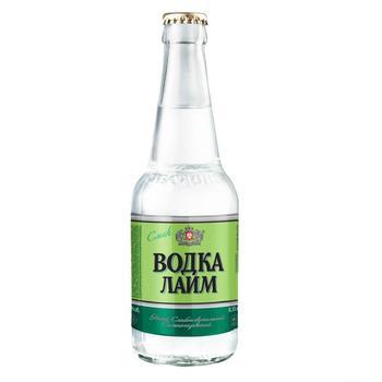 Напій Оболонь Водка Лайм слабоалкогольний сильногазований 0,33л скло - купити, ціни на CітіМаркет - фото 2