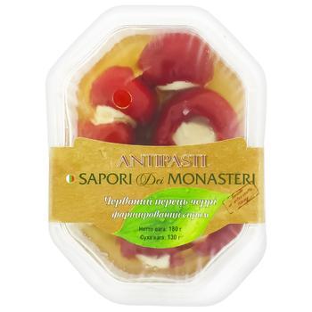 Перець червоний черрі Sapori del Monaster фарширований сиром i 180г