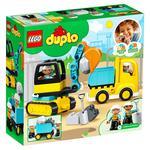 Конструктор Lego Duplo Грузовик и экскаватор