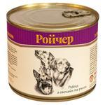 Корм Ройчер рубец с овощами и рисом для собак 525г