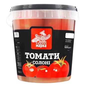Vegetables tomato Chudova marka salt 600g - buy, prices for Furshet - image 2