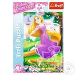Пазлы Trefl приключения в мире принцесс 54 элемента