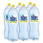 Вода Бон Буассон минеральная сильногазированная вкус лимона 2л