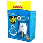 Электрофумигатор от комаров Raid 30 ночей с возожностью реулировки степени защиты