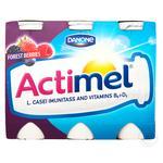 Danone Actimel Wild Berries Flavored Fermented Milk Product 1,5% 100g