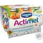 Actimel with multi-fruit yogurt 1.5% 100g