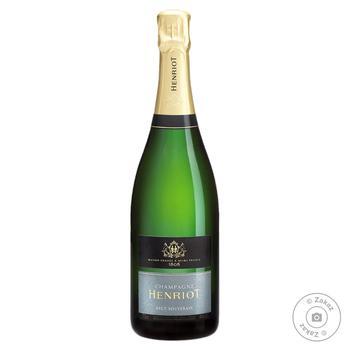 Шампанское Henriot Brut Souverain белое 12% 0.75л