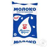 Молоко Молочная ферма 3.2% 900г