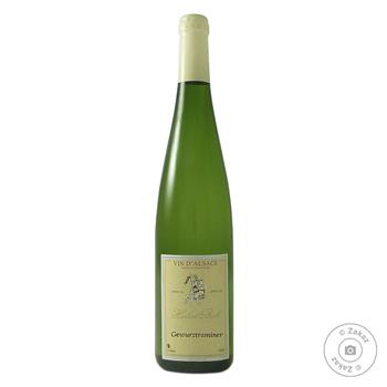 Вино Hubert Beck Gewurztraminer белое полусухое 13% 0.75л